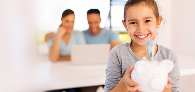 when to open checking account child
