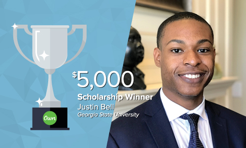 Justin_500x300 Get to know our 2018 What's Ne[x]t Scholarship winners