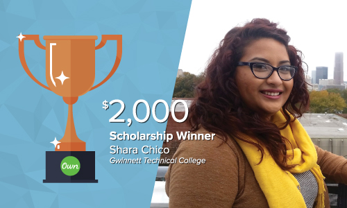 Get to know our 2018 What's Ne[x]t Scholarship winners