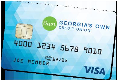 Visa Classic credit card