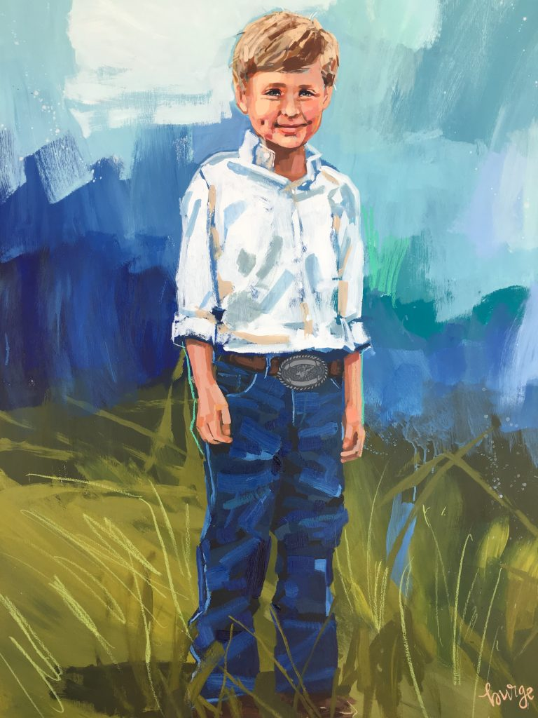 Elaine Burge art Cole