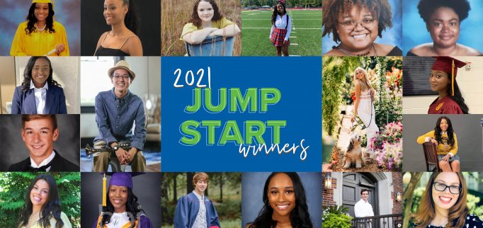 Congratulations to our 2021 Jump Start Scholarship winners